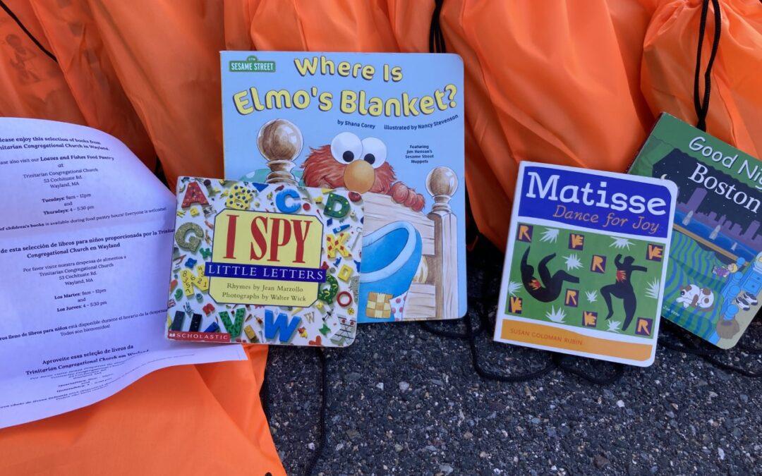 Community Partners Donate Books to JFS for Distribution to Framingham Children!