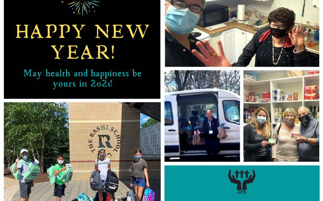 Health and Happiness to you in 2021, from JFS of Metrowest!