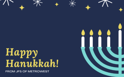 Happy Hanukkah from JFS of Metrowest!